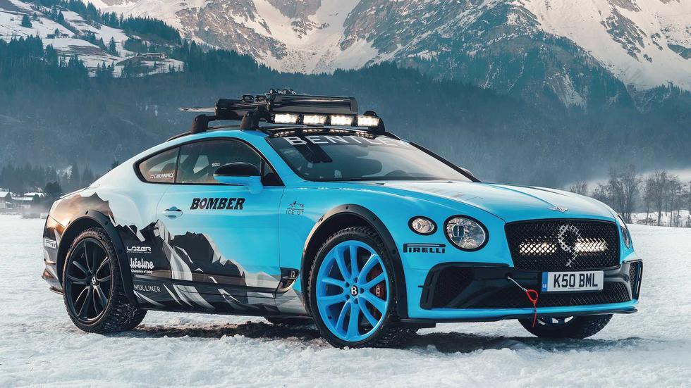 El Bentley Continental GT equipa un motor W12 biturbo de 6.0 L que desarrolla 626 HP. (Fotos: Bentley).