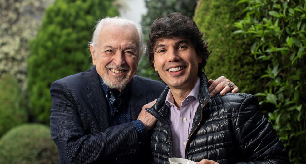 Tanto Bruno como Luis Ángel Pinasco han celebrado dos hitos importantes durante este tiempo pandémico. El primero festejó 20 años al frente del programa Cinescape, mientras que 'Rulito' cumplió 80 años de vida en enero pasado. Se reunieron a proósito del Día del Padre, que se celebra el terecer domingo de junio. FOTOS: Elías Alfageme.