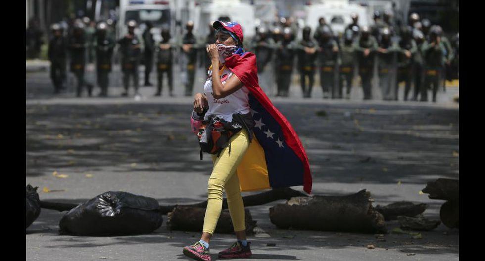 Venezuela: Las fotos más impactantes de la brutal represión - 26
