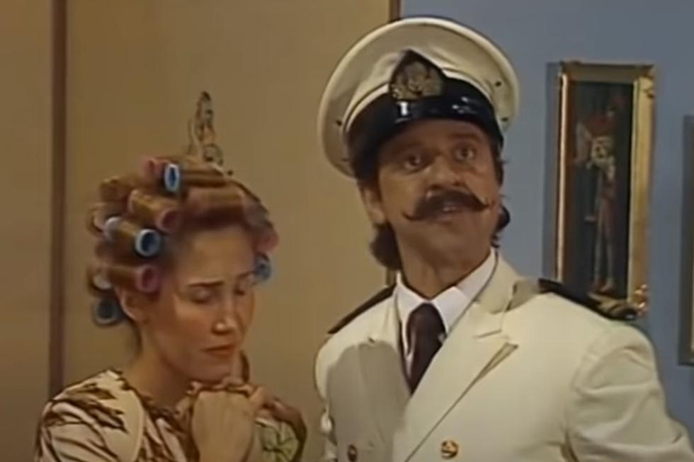 Foto 1 de 3 | 'Don Federico' apareció en un capítulo de 'El Chavo del 8'. (YouTube: Chespirito y sus Amigos)