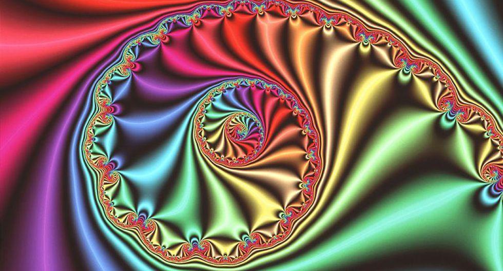 """Gráfico de computadora que muestra una imagen fractal """"espiral"""" tridimensional derivada del conjunto Julia, inventado y estudiado durante la Primera Guerra Mundial por los matemáticos franceses Gaston Julia y Pierre Fatou. (Foto: Science Photo Library)"""