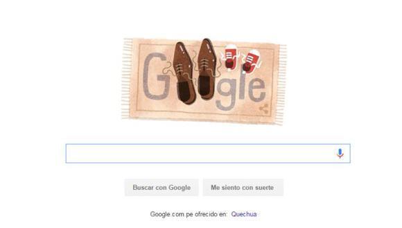 Día del Padre: Google saluda a todos los papás con 'doodle'