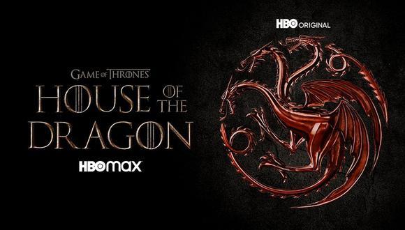 "Arte oficial de ""House of the Dragon"", precuela de ""Game of Thrones"". Foto: HBO."