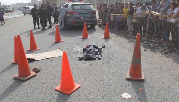 Pachacámac: volquete mató a dos niños