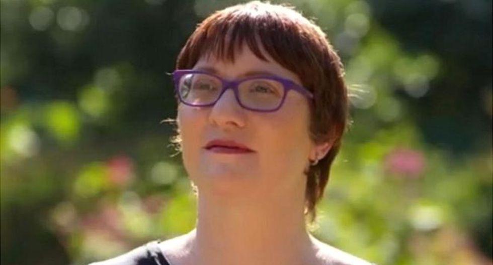 A Jeni Haynes se le permitió que seis de sus personalidades testificaran contra su padre. Foto: JENI HAYNES/ NINE NETWORK, vía BBC Mundo