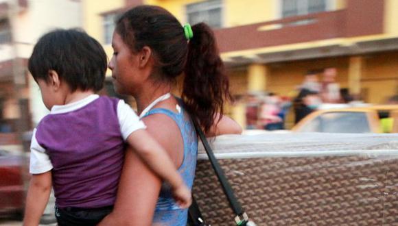 El 15 % de los asesinatos fueron perpetrados contra niñas y adolescentes en Ecuador. (Foto: EFE)