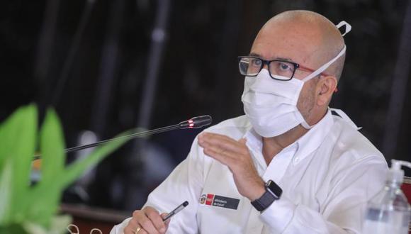Víctor Zamora se pronunció sobre los medicamentos que se suministran a los pacientes con COVID-19. (GEC)