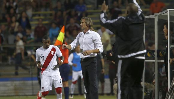 Ricardo Gareca suma 71 partidos al mando de la selección peruana. (Foto: Rolly Reyna / Archivo El Comercio)