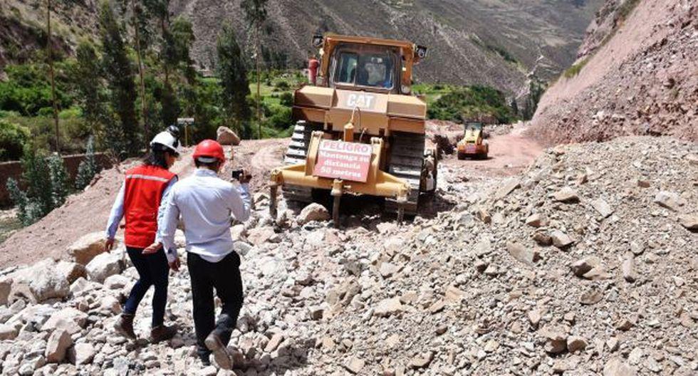 Este domingo se reanudará tránsito en carretera Anta-Urubamba
