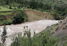 Huancavelica: continúabúsqueda de tres desaparecidos que cayeron al río Opamayo