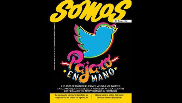 Cuatro millones de peruanos usan actualmente Twitter