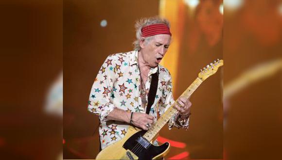 Facebook: Keith Richards de Rolling Stones publicó foto en Lima