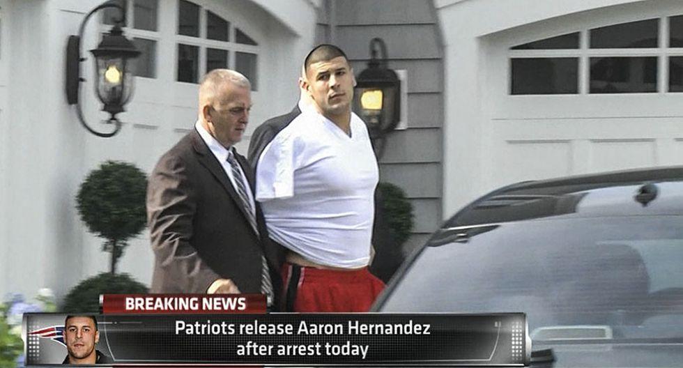 Aaron Hernández, de las canchas a la celda en la que se suicidó - 8