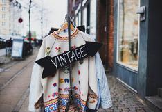 Ropa vintage: tiendas virtuales donde encontrarás verdaderos tesoros de la moda