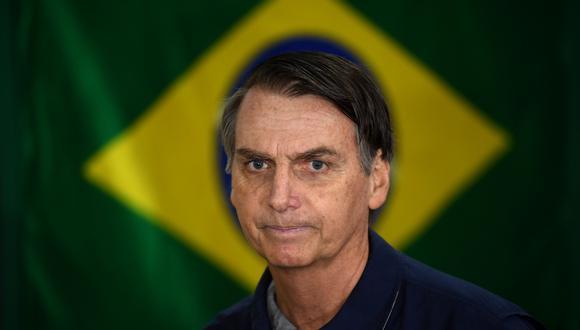 """""""¿Qué se puede esperar del fenómeno Bolsonaro?"""", se preguntó Bramatti, quien mostró su preocupación porque este candidato """"viene con amenazas a los medios de comunicación importantes"""". (AFP)"""