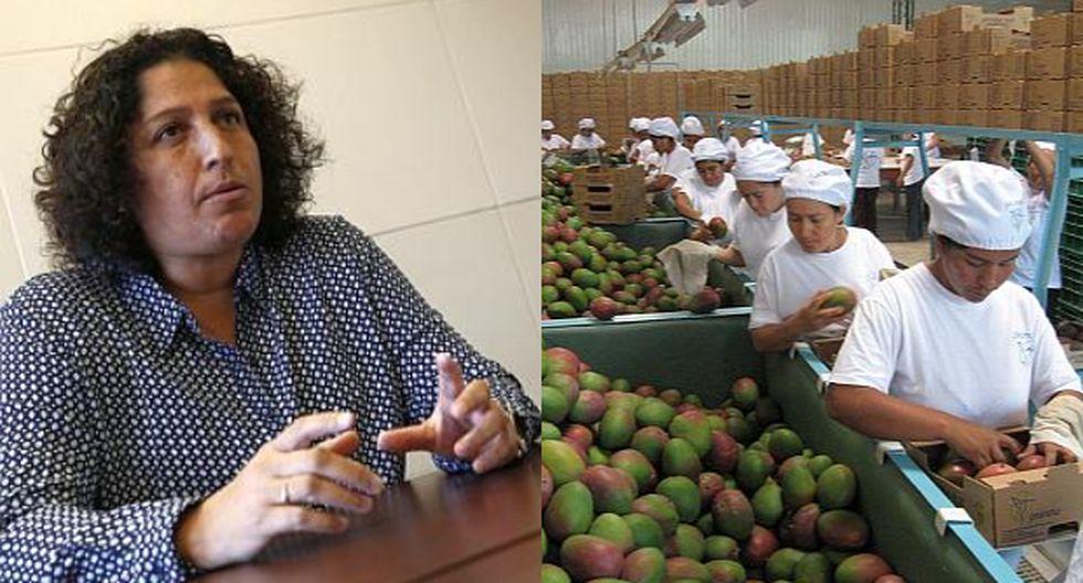 Fabiola Muñoz, ministra de Agricultura y Riego. (Foto: GEC)