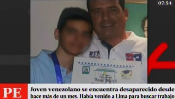 SJL: ciudadano venezolano lleva más de un mes desaparecido