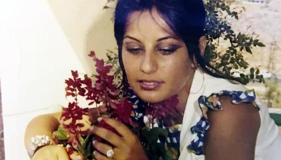 Randa al-Banna, antes de casarse con el emir de Dubai. (Foto: Berliner Kurier).