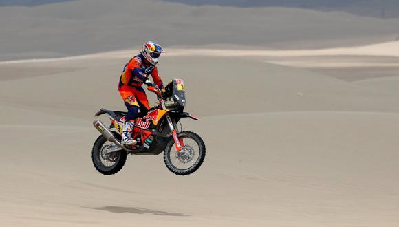 Toby Price suma dos títulos compitiendo en el Dakar. (Foto: Reuters)