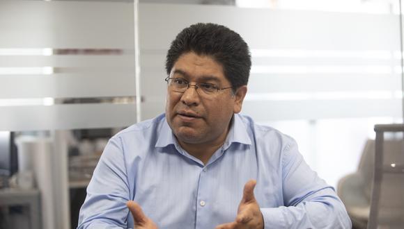 Rennán Espinoza dijo que la bancada escuchará los descargos de Guillermo Aliaga. (Foto: José Rojas Bashe / GEC)