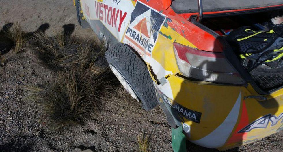 Así quedó auto de Mario Hart tras accidente en Caminos del Inca - 2