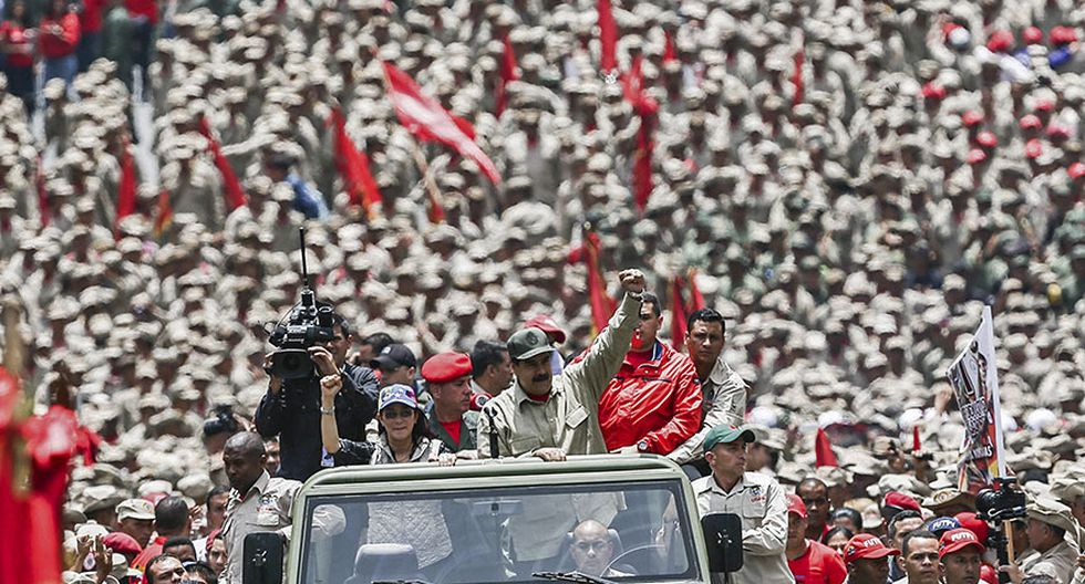 El medio millón de civiles armados de Nicolás Maduro [FOTOS] - 11