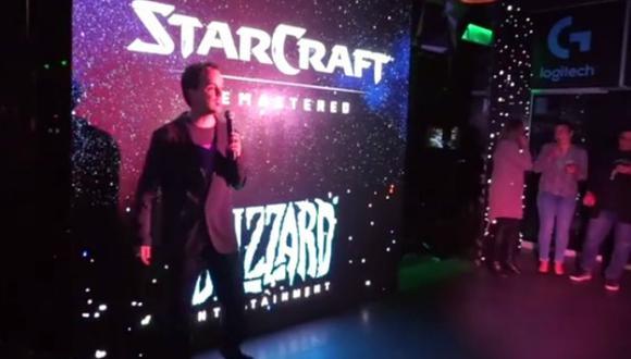 Benjamín Preciado, gerente de marketing para Hispanoamérica de Blizzard.