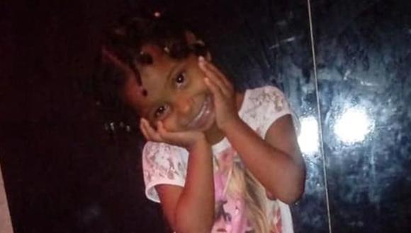 Ketelen Vitória Oliveira da Rocha murió esta madrugada después de los golpes y torturas que recibió de su madre y su madrastra. (Foto: OGlobo).