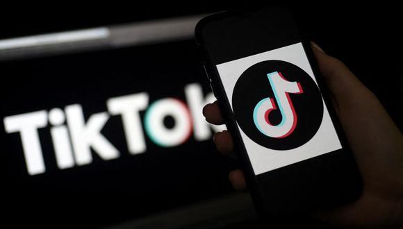 TikTok es una aplicación para móviles. (Foto: Olivier DOULIERY / AFP).