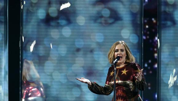 Adele y su potente mensaje a favor de la lucha contra la desigualdad y el racismo. (Foto: AFP)