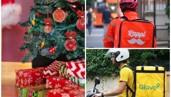 Los aplicativos de delivery han implementado la opción de comprar regalos navideños en estas fiestas. Rappi se alió con el Jockey Plaza y Glovo con Real Plaza (Salaverry y Primavera), entre otras tiendas. (Foto: El Comercio)