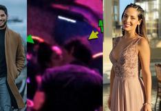 """Andrés Wiese tras apasionado beso con Andrea Luna en Miami: """"Estoy soltero"""""""