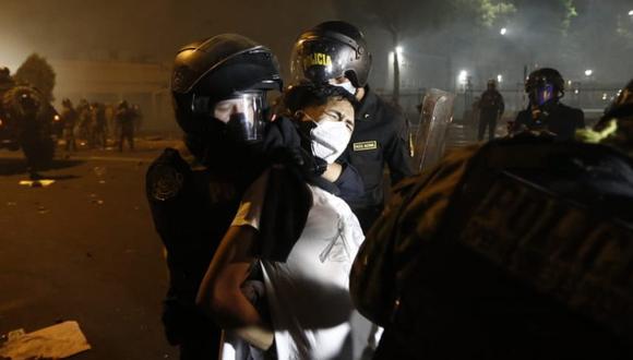 Embajada Británica en el Perú mostró su preocupación por informes sobre uso excesivo de la fuerza en protestas. (Foto: Francisco Neyra / GEC)
