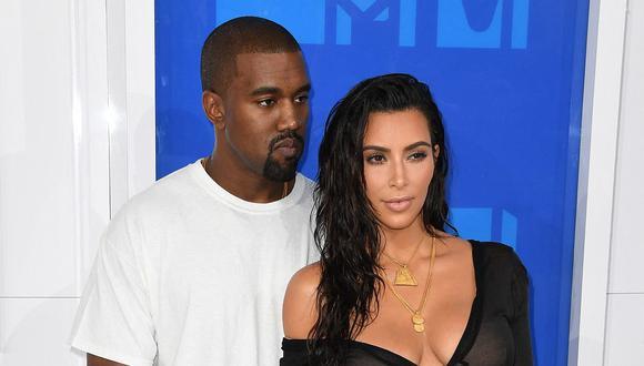 La celebridad Kim Kardashian cree que es importante que los 4 niños tengan una relación con su padre Kanye West. (Foto: AFP)