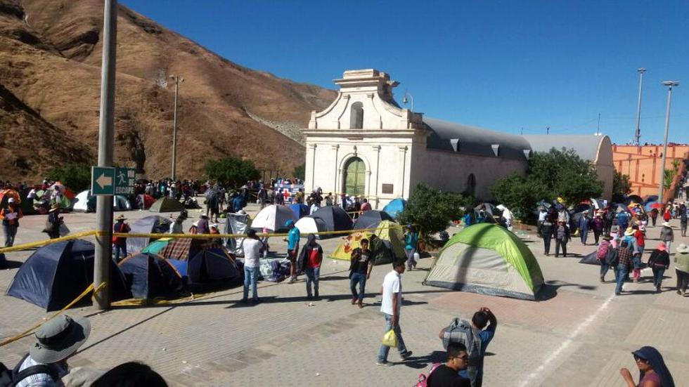 Miles de fieles peregrinaron al santuario de la Virgen de Chapi - 3