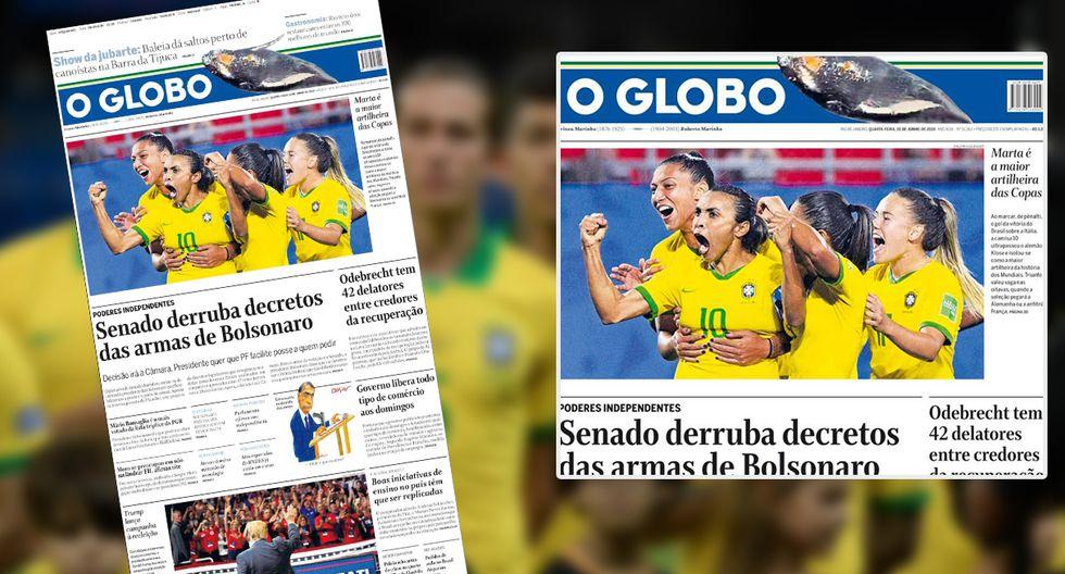 Así amanecieron los principales diarios de Brasil tras el empate ante Venezuela en la Copa América. (Foto: Difusión)