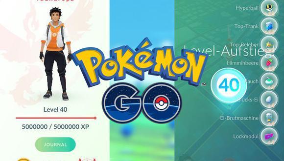 Existen varios trucos para acumular puntos de experiencia en Pokémon GO, aquí te enseñamos uno delos mejores para llegar a nivel 40. (Composición: El Comercio)