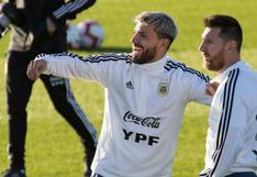 La jocosa sugerencia del 'Kun' Agüero a Leo Messi en plena pelea en La Paz | FOTO