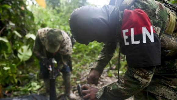 Los diálogos de paz con el ELN están en punto muerto desde el atentado con coche bomba cometido por esa guerrilla el pasado 17 de enero contra una Escuela de Oficiales de la Policía en Bogotá. (Foto referencial: AFP)