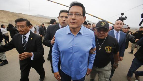 Félix Moreno es investigado por presuntamente haber favorecido a Odebrecht en la concesión de la vía Costa Verde del Callao. (Foto: Archivo El Comercio)