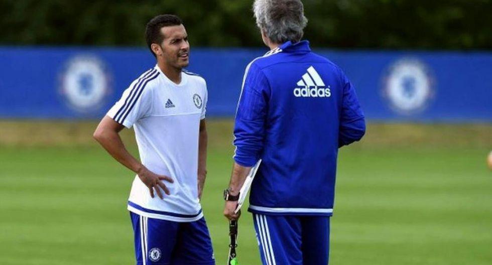 Pedro fue dirigido por Mourinho en el Chelsea. (Foto: AFP)