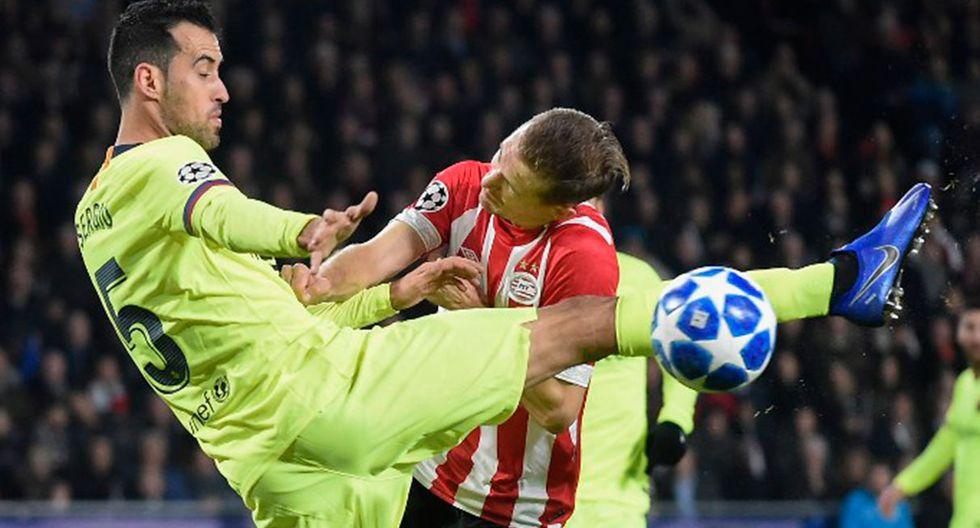 Barcelona y PSV protagonizan la quinta fecha del grupo B de la Champions League. (Foto: AFP)