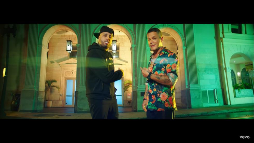 """Alejandro Sanz y Nicky Jam lanzan nueva canción """"Back in the City"""". (Foto: Captura de pantalla)"""