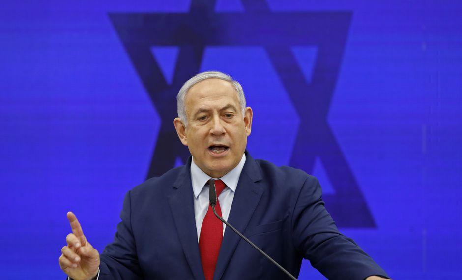 """El """"mago"""" Netanyahu, dispuesto a sobrevivir en las nuevas elecciones en Israel. Foto: AFP"""