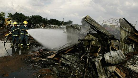 Tragedia repetida: Mercado de pirotécnicos explotó en el 2005