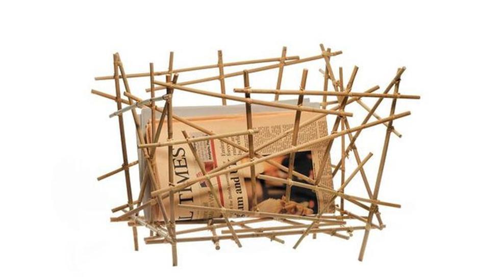 Comedor mínimo: Una colección de objetos hechos con varillas - 2