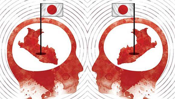 """""""Otros estudiosos de la generación de Kato también prosiguen, más allá de las clases universitarias, en su interés sobre temas nacionales"""". (Ilustración: Rolando Pinillos Romero)"""