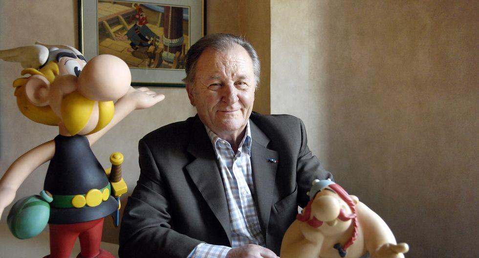 Albert Uderzo es recordado por crear las historietas de Astérix el Galo junto a René Goscinny. (Foto: Difusión)