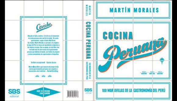 """""""Ceviche"""", el libro de Martín Morales, disponible en español"""