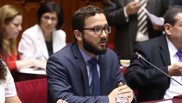 El director ejecutivo del Consejo de la Prensa Peruana (CPP), Rodrigo Villarán, pidió a Luis Galarreta que se exprese de una manera alturada debido al cargo que ostenta. (Congreso de la República)